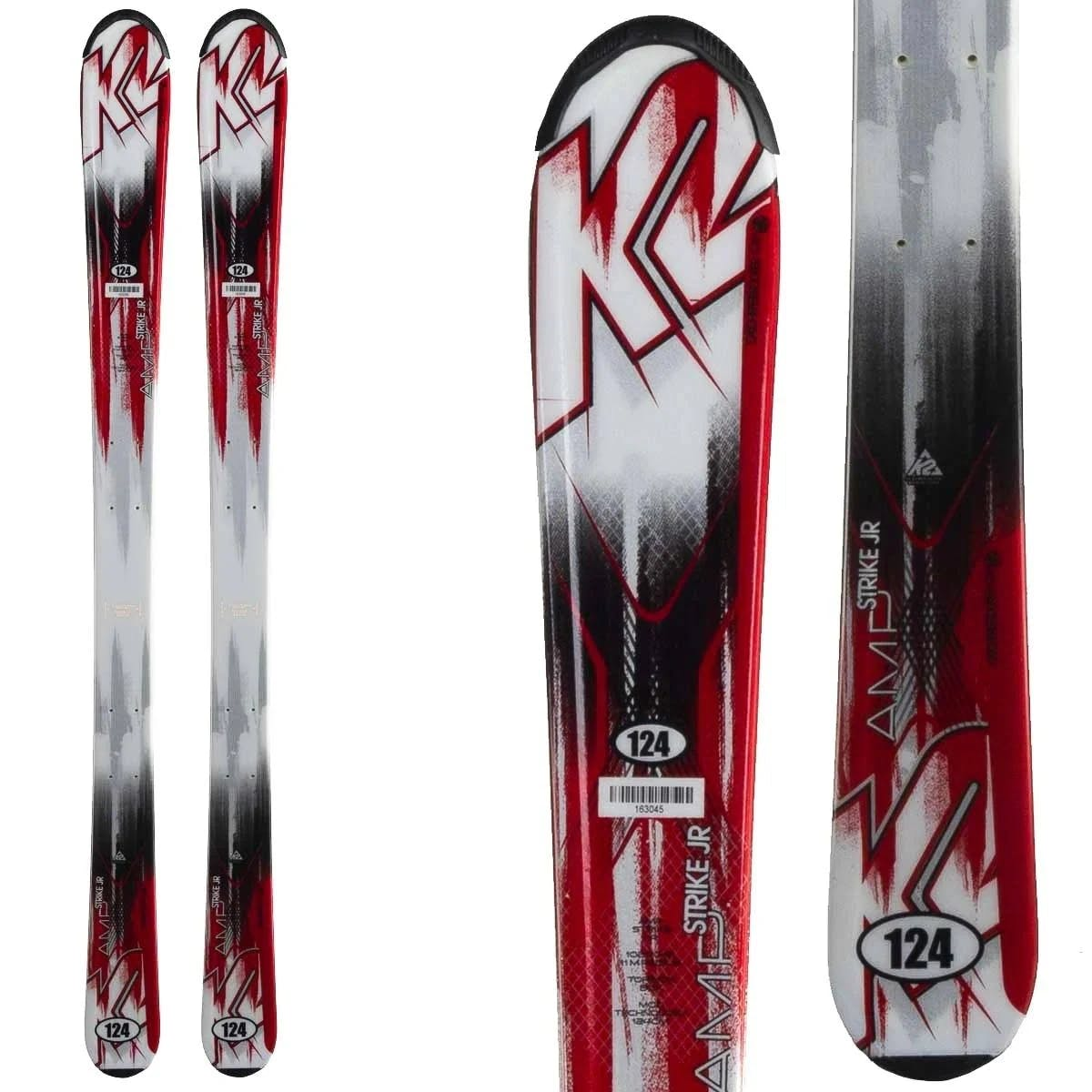 K2 Strike Junior Predrilled Skis