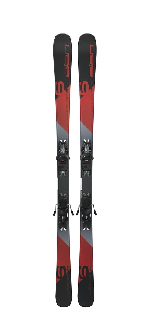 Elan  Explorer 6 Red Skis W/el 9.0 Bindings · 2019
