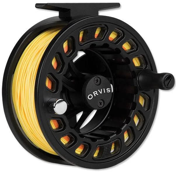 Orvis Encounter II Fly Reel, Loaded with Orvis Clearwater WF5F Fly Line on Sale!