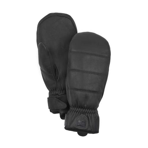 Hestra Alpine Leather Primaloft Mitt 6 / Black