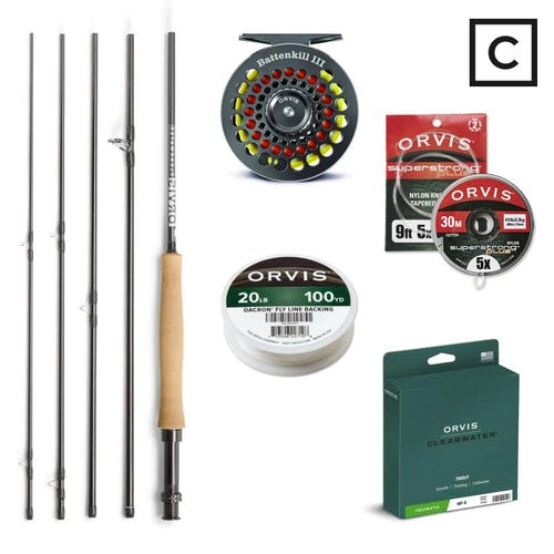 Orvis Clearwater Package - Freshwater