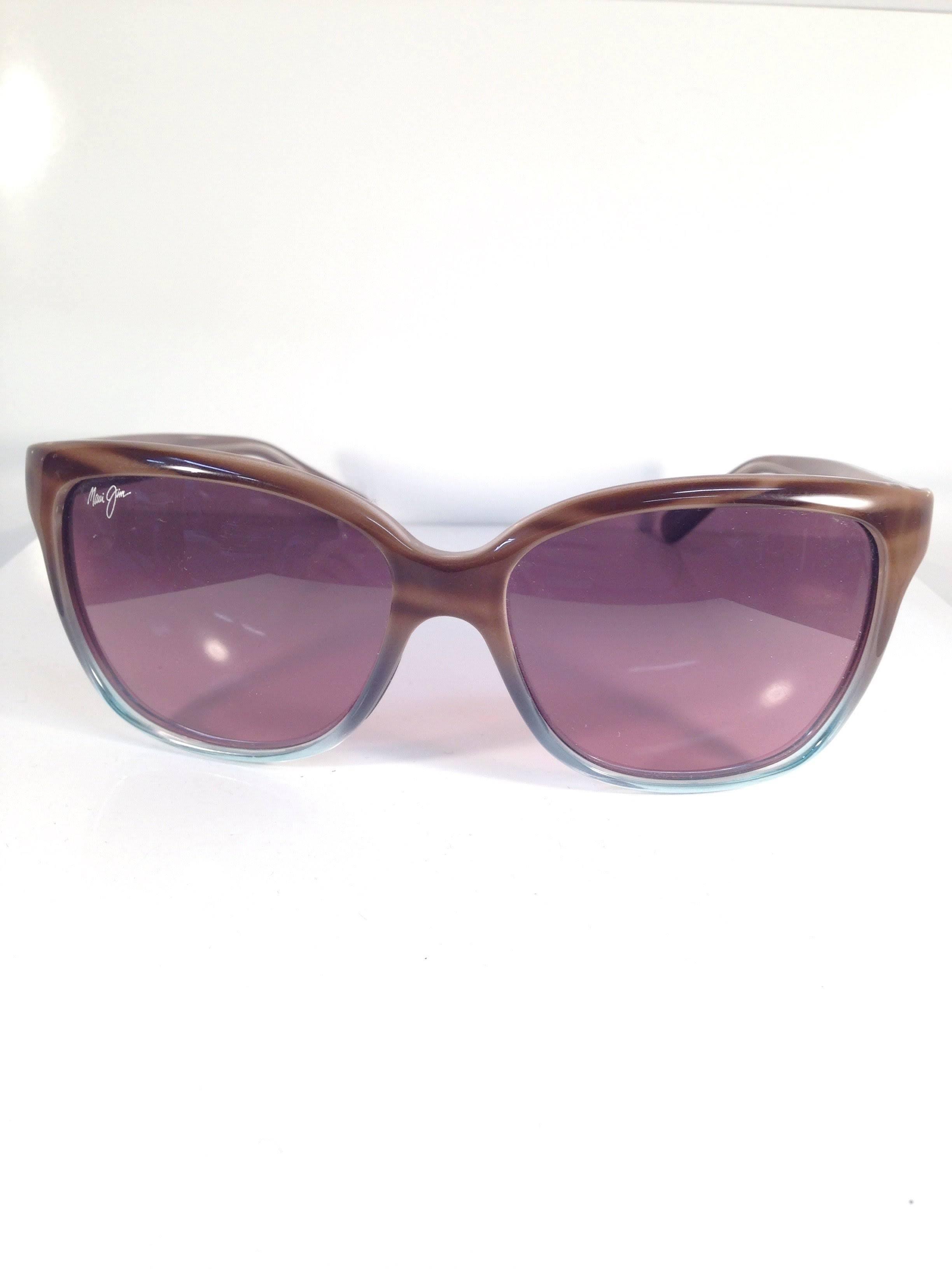 Maui Jim Starfish Sunglasses Sandstone Blue/Rose