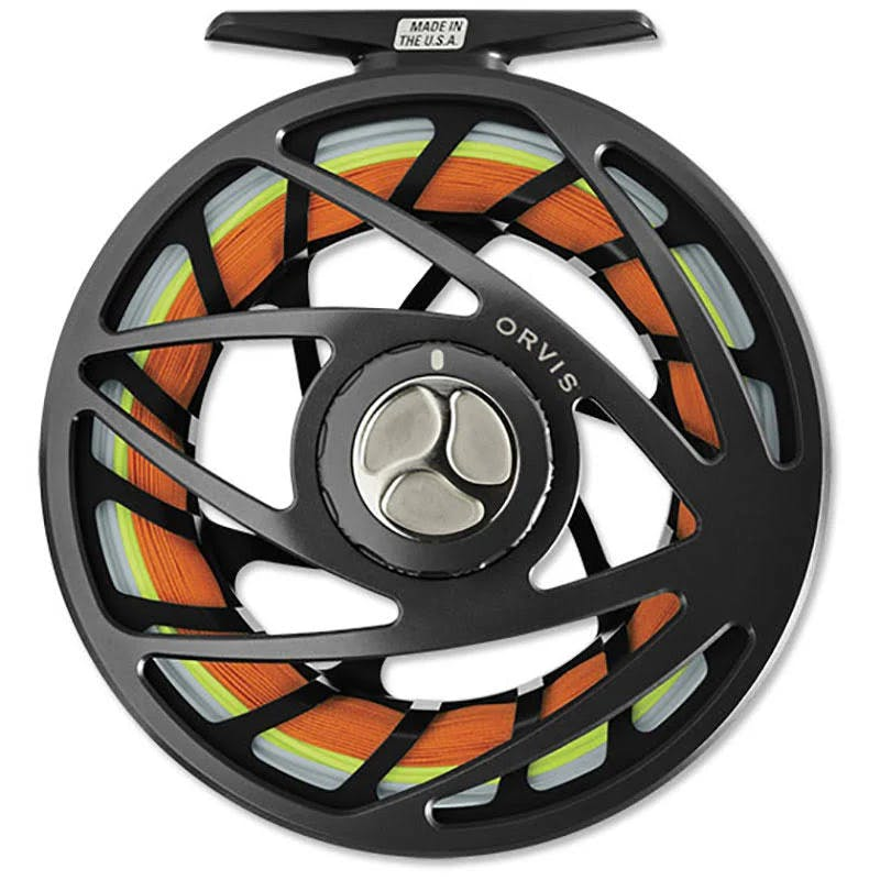 Orvis Mirage VI Fly Reel Shallow-Midnight Black