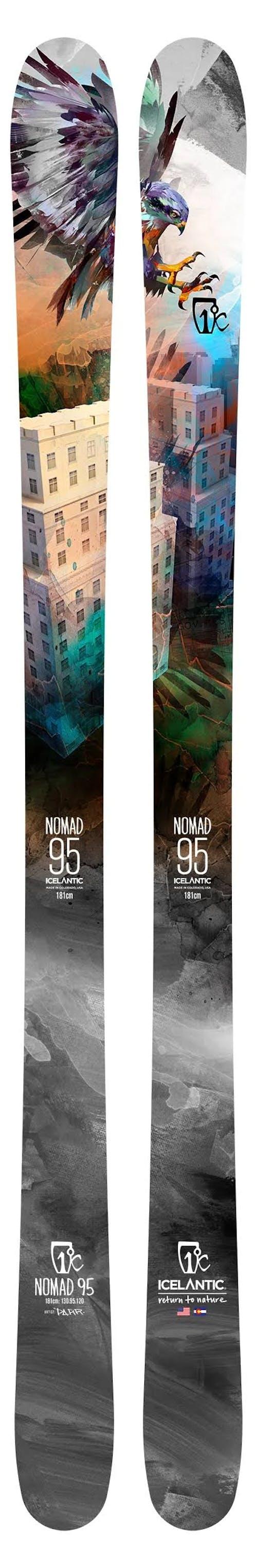 Icelantic Nomad 95   Skis · 2020