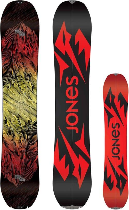 Jones Mountain Twin Splitboard