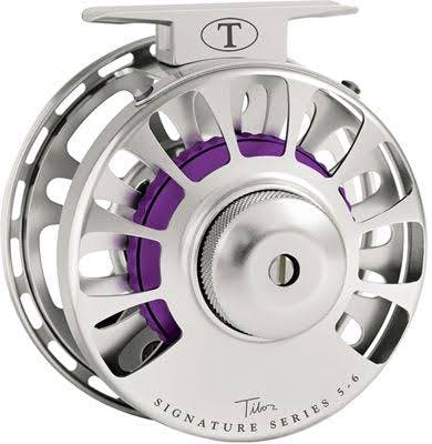 Tibor Frost Silver Signature Series Fly Reel - Violet