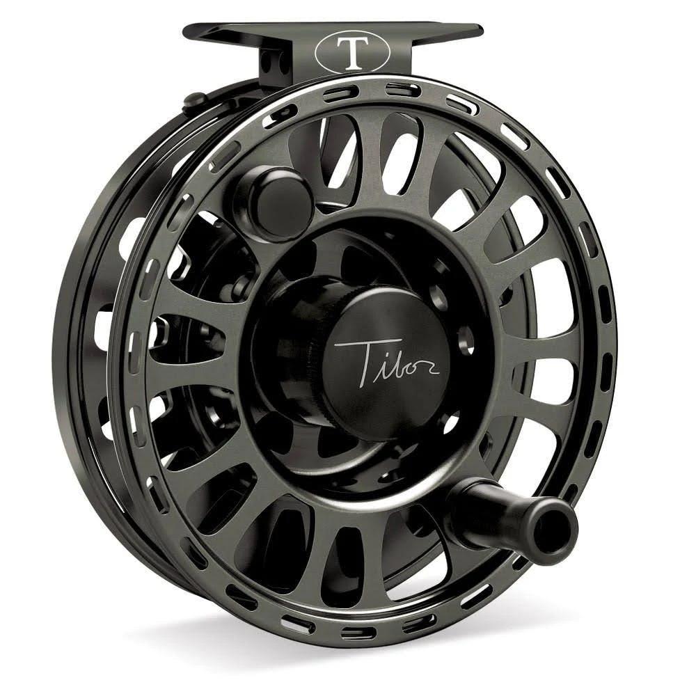 Tibor Signature 5/6 Fly Fishing Reel Spool - Jet Black