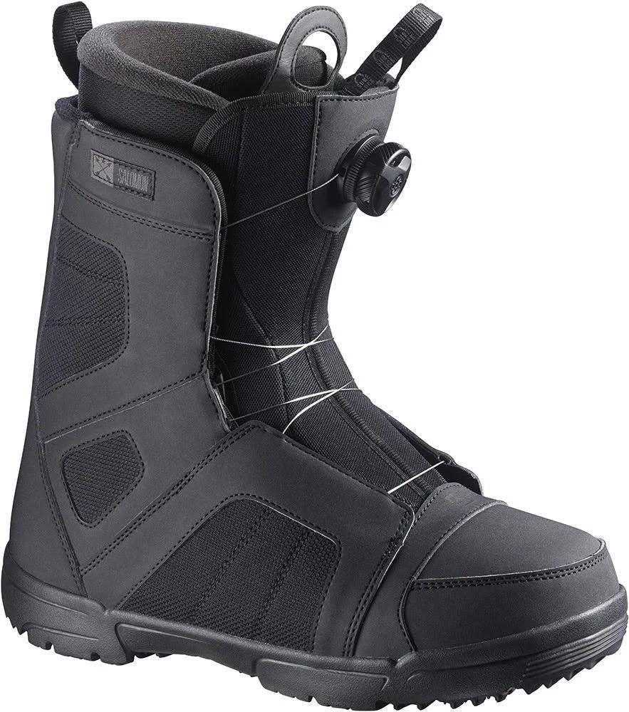 Salomon Titan BOA Men's Snowboard Boots Black/autobahn 5.5