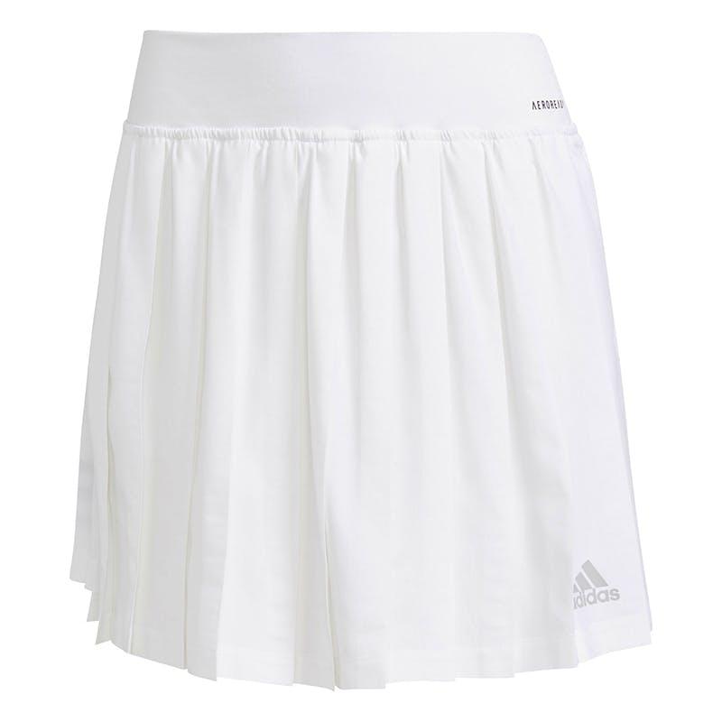 adidas Club Pleated Skirt (W) (White)