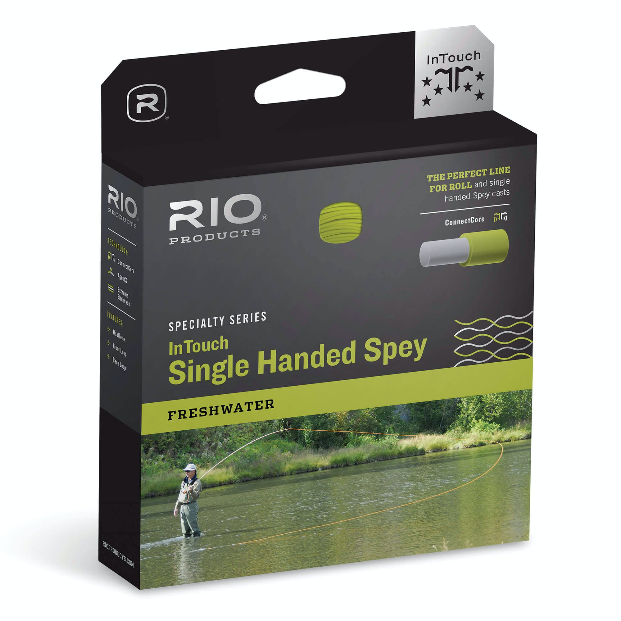 Rio InTouch Single Handed Spey Fly Line WF4F