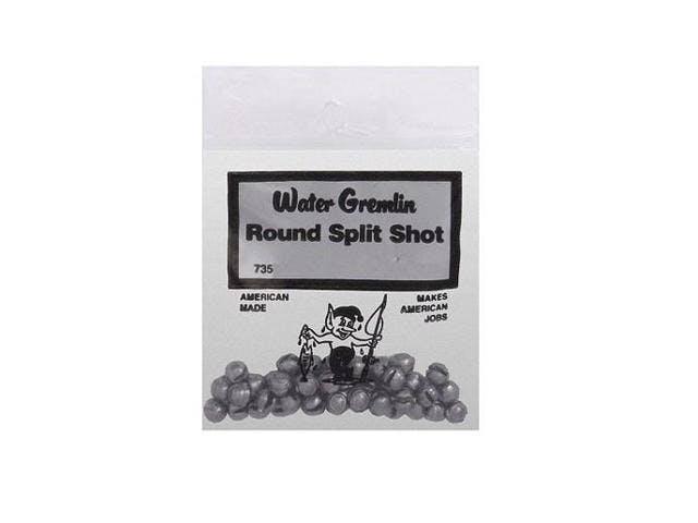 Water Gremlin Round Split Shot