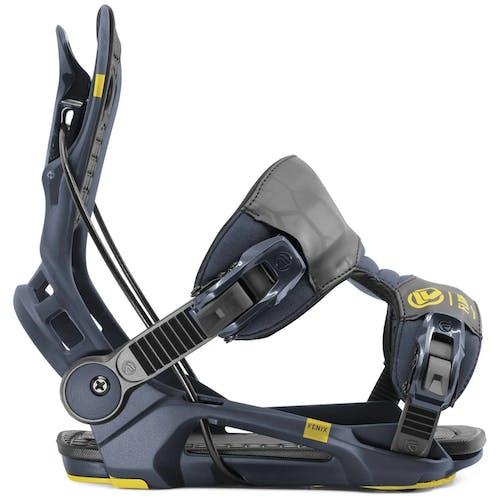 Flow Fenix Snowboard Bindings Midnight XL