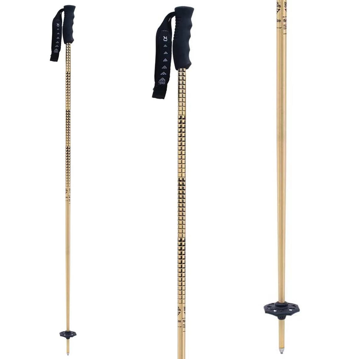 Black Crows Firmo Ski Poles Gold 48