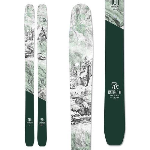 Icelantic Natural 101 Skis 2020