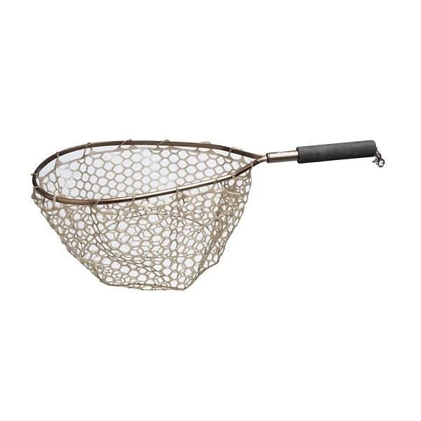 Adamsbuilt Fishing ABGTN15-A 15 in. Aluminum Trout Net with Camo Ghost Netting