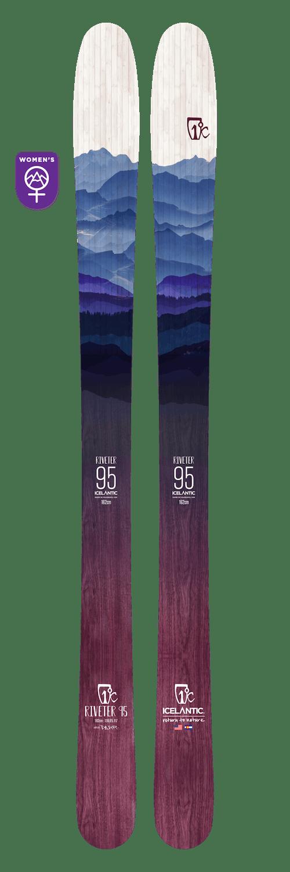Icelantic Riveter 95 Skis · 2021