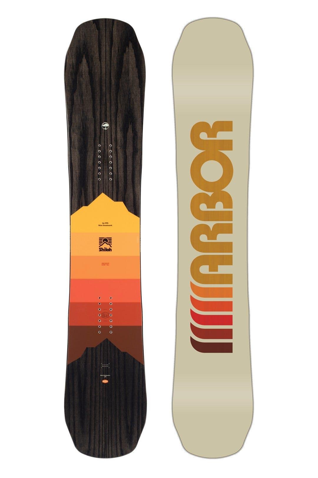 Arbor Shiloh Rocker Snowboard · 2021