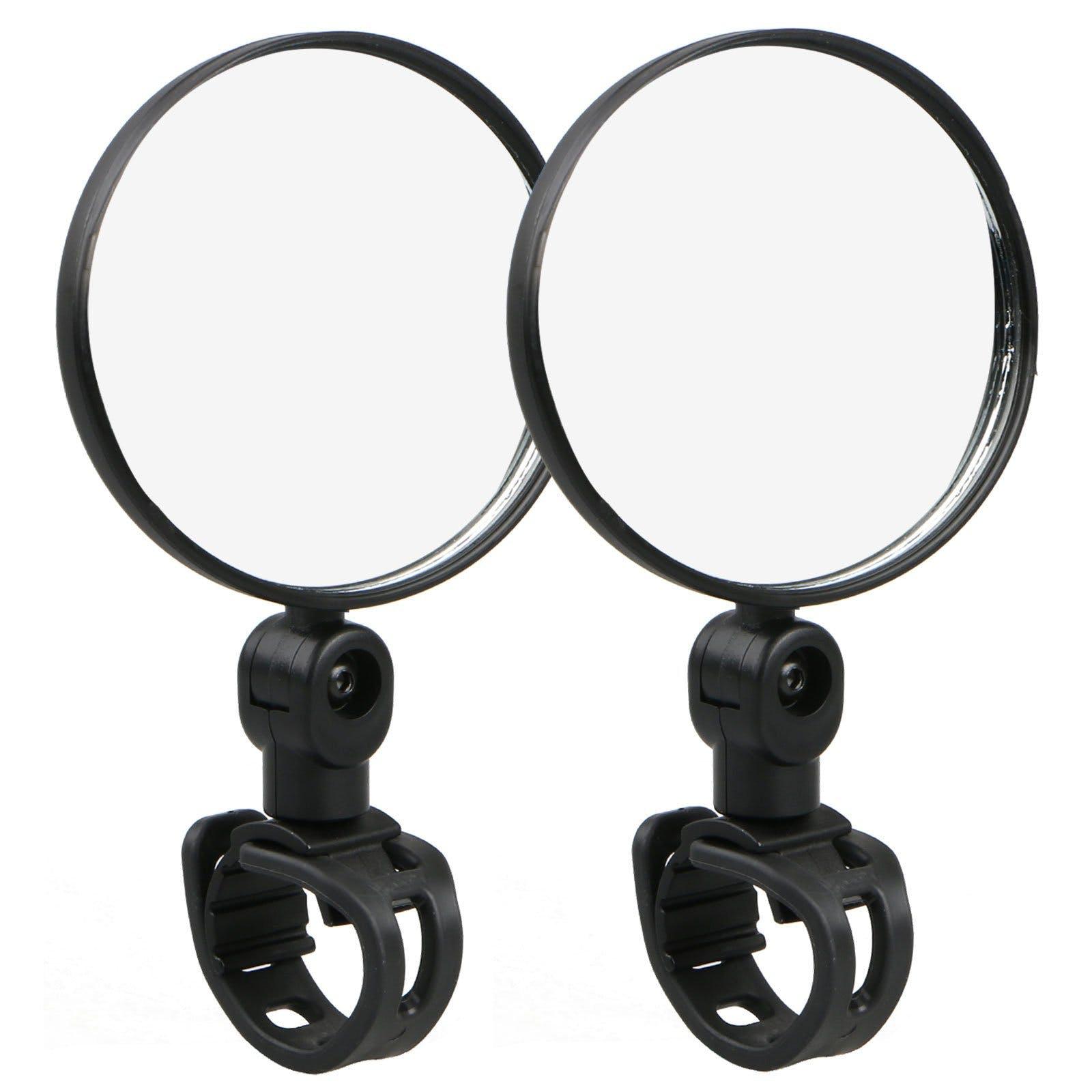 Universal Mini Rotaty Rearview Handlebar Mirror For Bike Bicycle Cycling