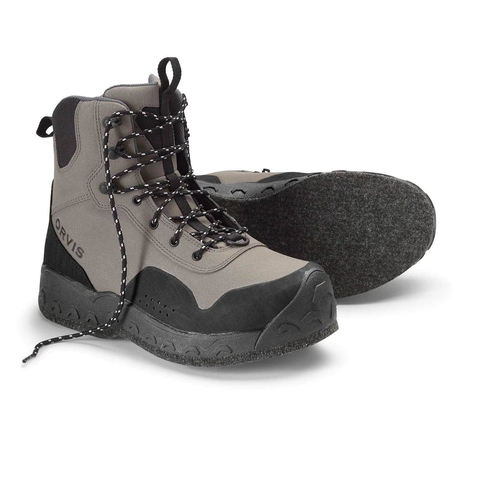 Orvis Men's Clearwater Wading Boots 10; Gravel; Felt Sole