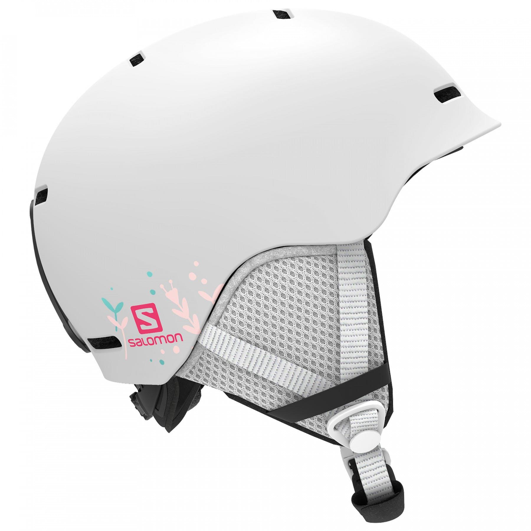 Salomon Grom JR Helmet Small White