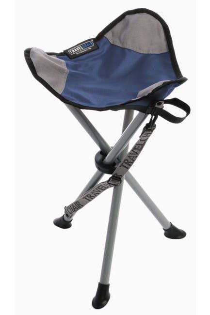 Travel Chair - The Slacker Chair - Blue/Grey