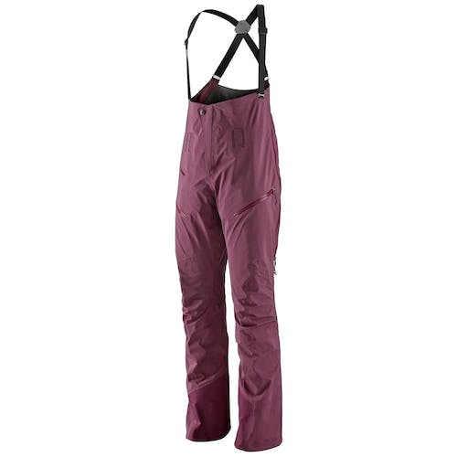 Patagonia Powslayer Bibs Women's L Light Balsamic Pants
