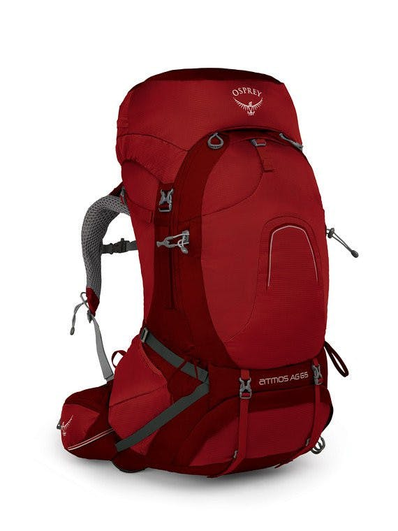 OSPREY - ATMOS AG 65 PACK - LARGE - Rigby Red