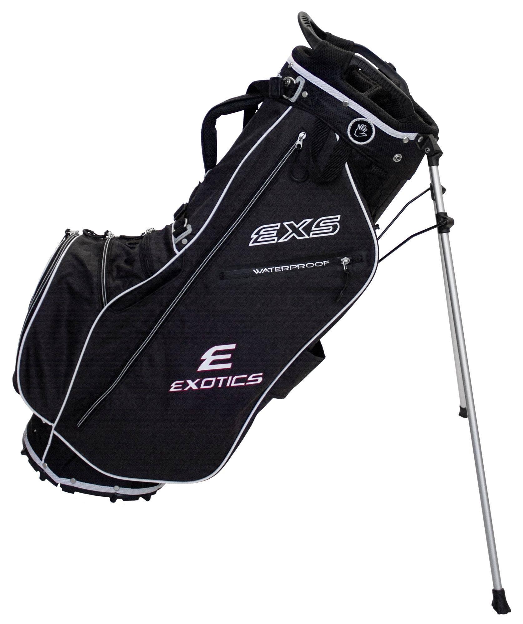 Tour Edge Exotics EXS Xtreme Stand Golf Bag, Black