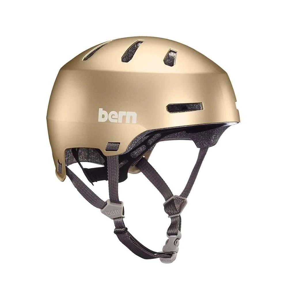Bern Macon 2.0 Helmet 2020 Satin Metallic Champagne Small