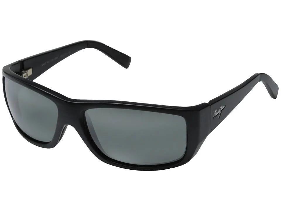 Maui Jim Wassup Polarized Sunglasses, Men's, Black
